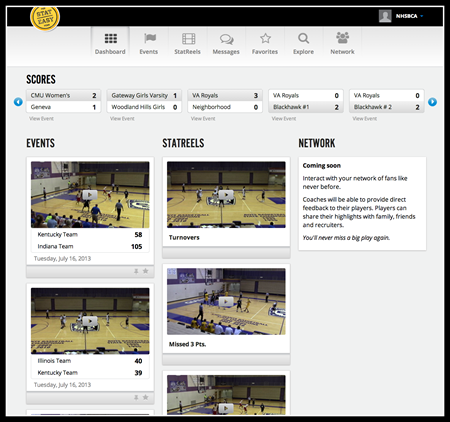 New Basketball Dashboard